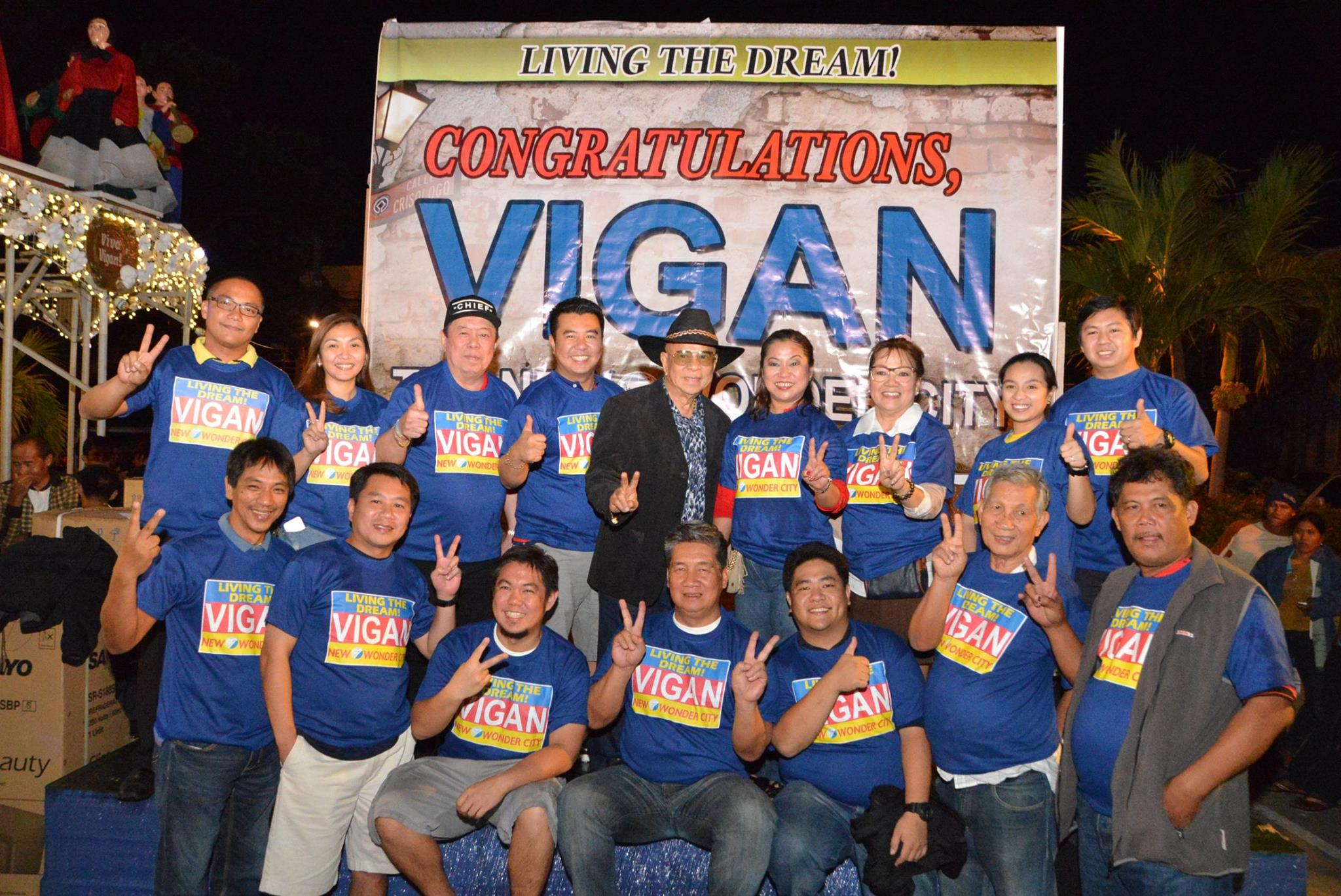 Vigan City Declared as New 7 Wonders Cities of the World at 3:00 AM Philippine Time on December 8, 2014