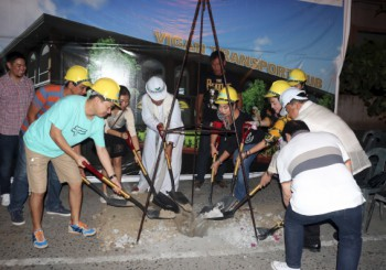 Vigan Central Plaza and the Vigan Transport Hub soon to rise
