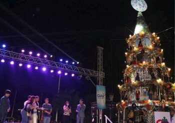 Vigan Christmas Tree Lighting Highlights  The Raniag, Vigan City Twilight Festival Celebration