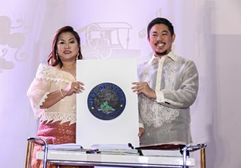 Oath Taking Ceremonies of the Newly Elected Vigan Officials
