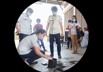 Women's Organizations of the City attend Urban Gardening Seminar