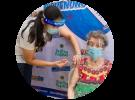 99-Year Old Senior Citizen Receives COVID Vaccine